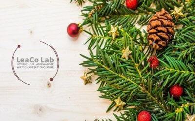 LeaCo Lab wünscht Ihnen eine besinnliche Weihnachtszeit und einen guten Rutsch ins neue Jahr!