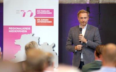 Highlights und Hintergründe – Christian Lindner bei DIE FAMILIENUNTERNEHMER