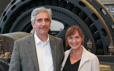 Leiser Abschied von der Führungskraft –  Martina Grünewald-Ernst und Lothar Grünewald im Interview mit der Rheinischen Post